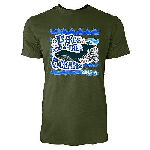 SINUS ART ® Blauwal im Meer