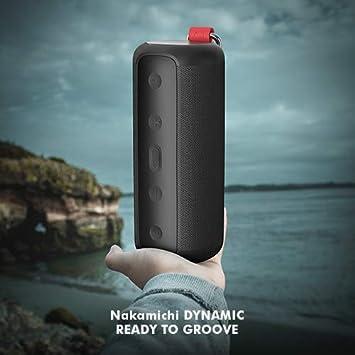 Nakamichi Dynamic Waterproof Bluetooth Speaker (Black)