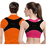 KENNY Posture Corrector for Women & Men | Comfortable Upper Back Brace | Posture Support | Kyphosis Brace | Posture Brace | Adjustable Posture Correct Brace