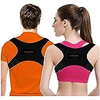 KENNY Posture Corrector for Women & Men | Comfortable Upper Back Brace | Posture Support | Kyphosis Brace | Posture Brace | Adjustable Posture Correct Brace