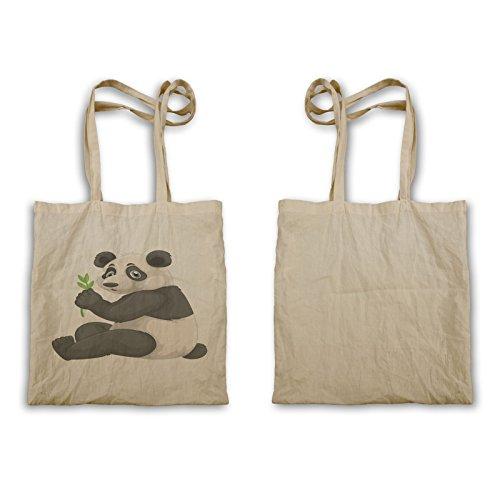 Taccola Panda Dicendo Ciao R237r Tote Bag