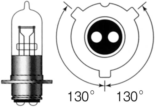 M&Hマツシマ ハロゲンバルブ 6V35/35W クリアー PH8 7 ライト