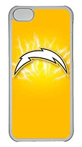 Creative GOOD 5C Case, iPhone 5C Case, Personalized Hard PC Clear Shoockproof Protective Case Cover for New Apple iPhone 5C - San Diego Chargers