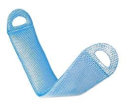 Supracor Spa Body Exfoliator Bath Face Antibacterial Scrub Sponge (Blue/White)