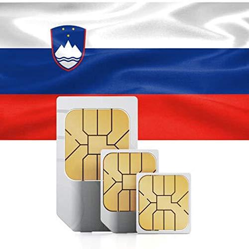 Balkan Countries (Bulgaria, Croatia, Cyprus (EU-Member State), Greece, Hungary, Romania, Slovenia) High-Speed Mobile Data SIM Card 12GB Valid for 60 Days