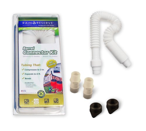 Rain Barrel Connector Kit (Rain Reserve 2012312 Rain Barrel Connector Kit)