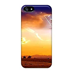 NikRun QqenP3595dYkLg Case Cover Skin For Iphone 5/5s (golden Hour)