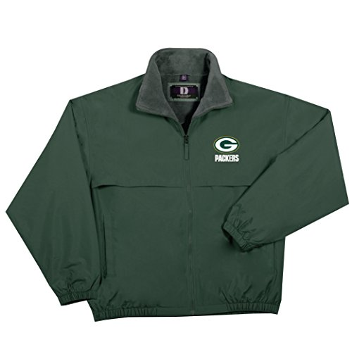 NFL Green Bay Packers  Triumph Fleece Lined Mid Weight Jacket, 5X, Forest