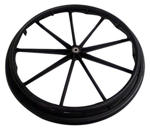 Graham-Field 90763050 Wheel and Black Handrim 24