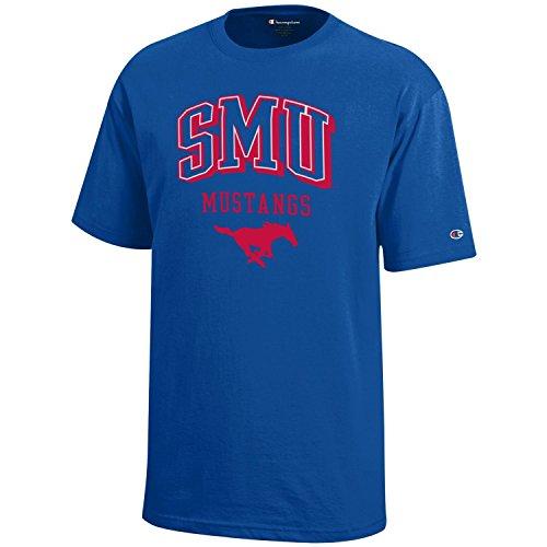 - NCAA Champion Boy's Short Sleeve Jersey T-Shirt SMU Mustangs Small