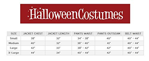 California Costumes Men's Royal Storybook Prince Adult Man Costume, Cream/Chocolate red, Extra Large