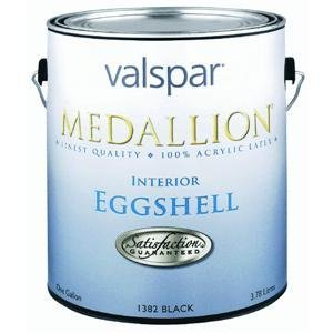 Valspar 027.0004408.007 Interior Eggshell Latex Paint, Pastel Base (Pack of (Eggshell Pastel Base Paint)