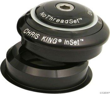King InSet 1 Hdst 1 1/8''-30mm Black