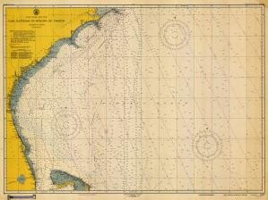 (Historical Nautical Chart 1001-11-1949: NC, Cape Hatteras to Straits of Florida Year 1949)