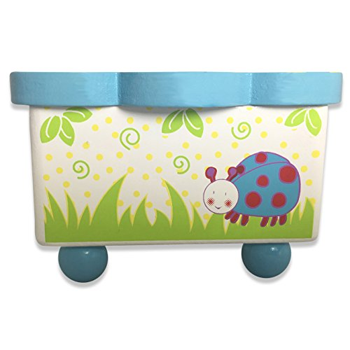 Adorable Wiggly Bug Dancing Music Box Multicolour Wooden Music Box Magnetic Dolls Kids Music Box Toy