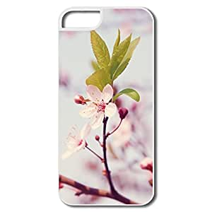 IPhone 5 5s Case Shell Spring Blossom,Designed Your Own Funny Cover For IPhone 5s