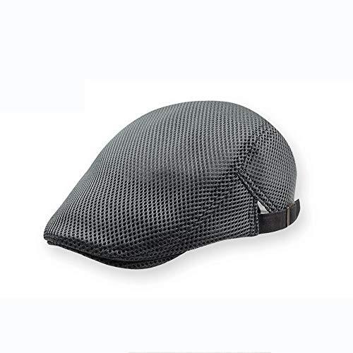 LDDENDP Hat Male Mesh Breathable - Newsboy Apartment Gatsby Ivy Irish Hunting Cap Men's Breathable Mesh Summer Hat Newsboy Beret IVY Turtleneck Tent Flat Casual Beret Sun Hat (5 Colors)