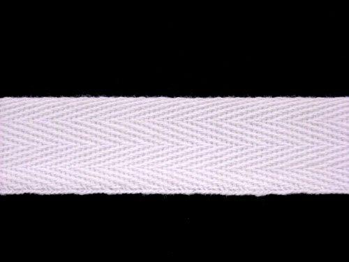 "Twill Tape - 3/4"" Cotton White"