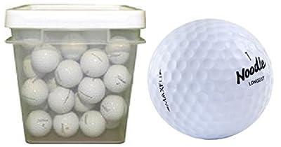 Maxfli Noodle Mix Assorted Recycled Golf Balls (100-Ball Bucket)