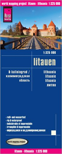 Lithuania Map – Folded Map, January 1, 2014 Reise Know-How Verlag 383177286X Travel Travel maps & atlases