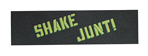 Shake Junt Yellow/Green Skateboard Griptape by Shake Junt