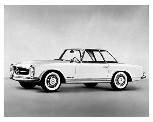 1963 1964 Mercedes Benz 230SL Hardtop Automobile Photo Poster