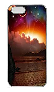 Abstract Sunset PC Case Cover for iPhone 5 and iPhone 5S Transparent