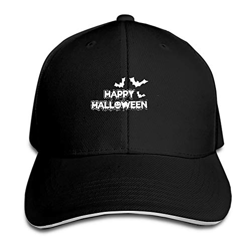 (Halloween 2 Men's Structured Twill Cap Adjustable Peaked Sandwich Hat)