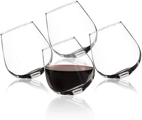 Rocking Stemless Aeration Cocktail Glasses