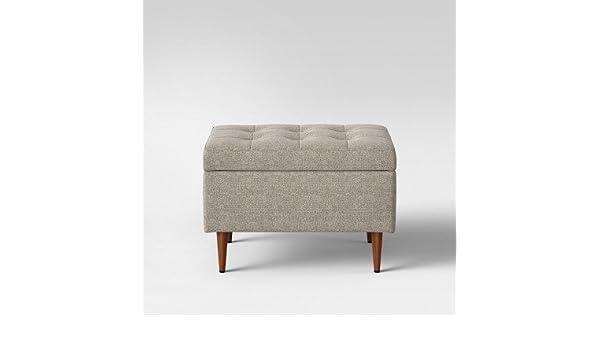 Awesome Amazon Com Lemoor Mid Century 28 Ottoman With Storage Spiritservingveterans Wood Chair Design Ideas Spiritservingveteransorg