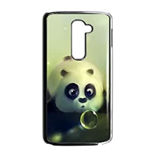 LG G2 Cell Phone Case Black Funny Kung Fu Panda GY9021365