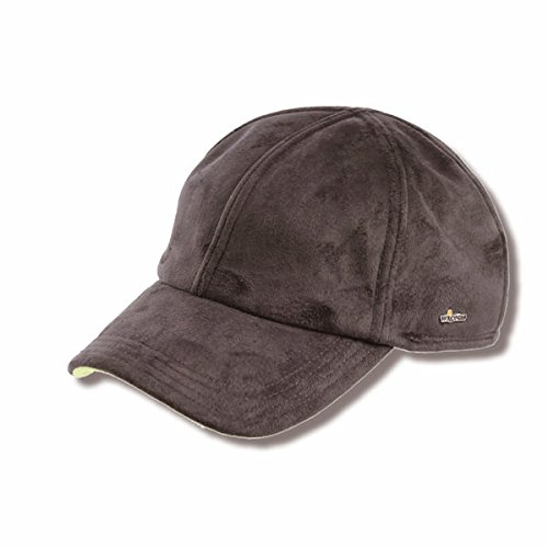 Wigens Haldo Suede-Finish Baseball Cap-Brown-57
