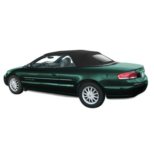 Chrysler Sebring Convertible Top for 2001-06 Models in Sailcloth Vinyl with Glass Window, (Chrysler Sebring Convertible Auto)