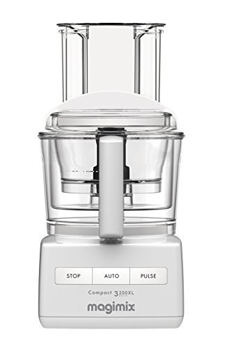 Magimix 12-Cup Food Processor by Robot Coupe 3200 XL (12 Cup, White) (Best Food Processor For Pastry)