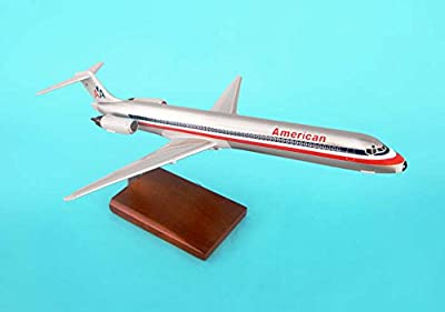 Mastercraft Collection Executive Collection Boeing American MD-80 Model Scale:1/100