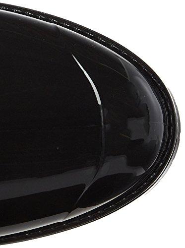 Hilfiger Vrouwen O1285xford 8rw Rubberen Laarzen Zwart (black)