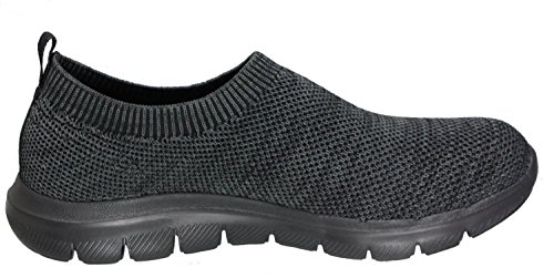 Skechers Empire-Inside Look, Sneakers Basses Femme noir/noir