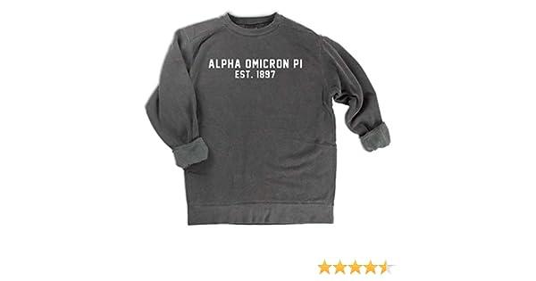 1897 Sweatshirt Comfort Colors Alpha Omicron Pi est