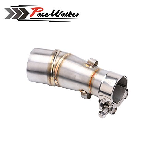 Motorcycle exhaust contact pipe connecter for kawasaki NANJA 250 300 250R Z250 2008~2015
