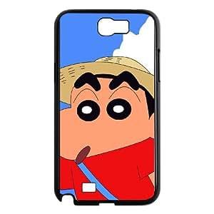 Crayon Shin-chan Samsung Galaxy N2 7100 Cell Phone Case Black g1877794