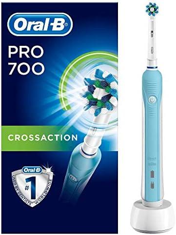 Oral-B PRO 700 CrossAction - Cepillo de dientes eléctrico recargable, con tecnología Braun: Amazon.es: Salud y cuidado personal