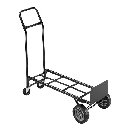 Safco Products 4070 Tuff Truck Convertible Utility Hand Truck, Black by Safco Products