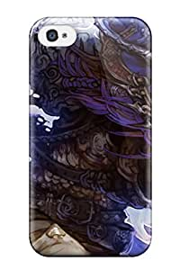 New YxKhfXK8378agDrq Shingeki No Bahamut Tpu Cover Case For Iphone 4/4s