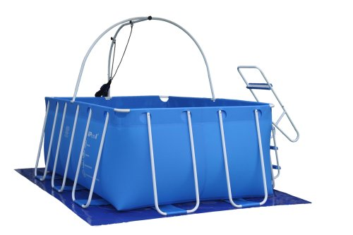 (iPool Above Ground Exercise Swimming Pool)