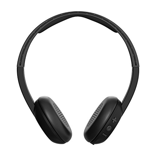 Skullcandy Uproar Bluetooth Wireless On Ear Headphones With Built In Mic And Remote  Black