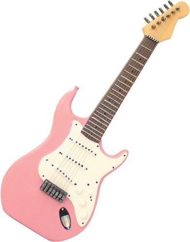 Mi música de Regalos Rosa para Guitarra eléctrica Decorativo de poliresina