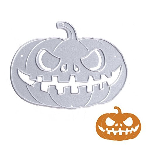 YDZN Pumpkin Metal Cutting Dies Stencils Scrapbook Album Paper Card Embossing DIY Craft for $<!--$2.66-->