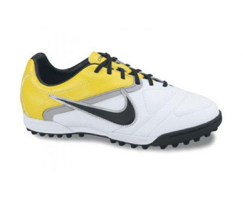 Nike Junior CTR 360 Libretto 2 Astro Turf Fußballstiefel Weiß