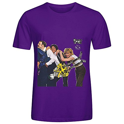 Cheap Trick Next Position Please Rock Mens Round Neck Casual Tee Shirts -