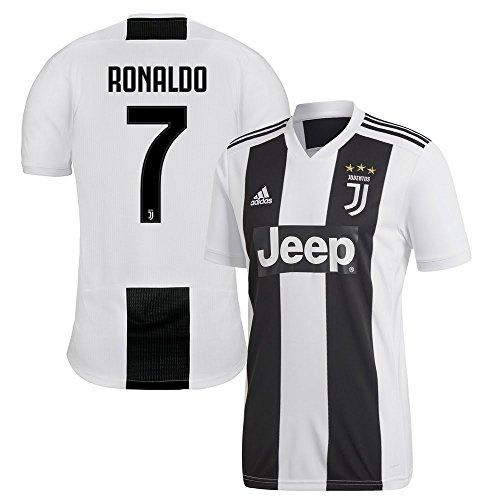 2018 Juventus Adidas Ronaldo Domicile Blanc Maillot La 19 7 MYwq5qpO